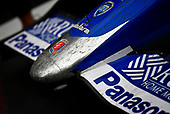 Verizon IndyCar Series<br /> Indianapolis 500 Race<br /> Indianapolis Motor Speedway, Indianapolis, IN USA<br /> Sunday 28 May 2017<br /> Takuma Sato, Andretti Autosport Honda rubber covered nose cone in victory lane<br /> World Copyright: Scott R LePage<br /> LAT Images<br /> ref: Digital Image lepage-170528-indy-10944