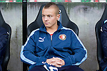 Nederland, Nijmegen, 26 september  2012.Seizoen 2012-2013.KNVB beker.NEC-Feyenoord.Jordy Clasie van Feyenoord zit op de bank..