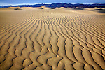 Sand Ripples, Death Valley National Park, California
