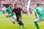 01.09.2019, wohninvest Weserstadion, Bremen, GER, 1.FBL, Werder Bremen vs FC Augsburg, <br /> <br /> DFL REGULATIONS PROHIBIT ANY USE OF PHOTOGRAPHS AS IMAGE SEQUENCES AND/OR QUASI-VIDEO.<br /> <br />  im Bild<br /> <br /> Nuri Sahin (Werder Bremen #17)<br /> Florian Niederlechner (Co-Trainer FC Augsburg 07)<br /> <br /> Foto © nordphoto / Kokenge