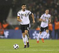 Foto : Sami Khedira ( Deutschland ) Fussball Länderspiel am Di. 14.11.2017 Deutschland - Frankreich 2 - 2 *** Photo Sami Khedira Germany Soccer Match on Tue 14 11 2017 Germany France 2 2   <br /> Foto Insidefoto