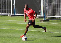 Jetro Willems (Eintracht Frankfurt) - 10.10.2018: Eintracht Frankfurt Training, Commerzbank Arena, DISCLAIMER: DFL regulations prohibit any use of photographs as image sequences and/or quasi-video.