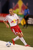 New York Red Bulls midfielder (13) Clint Mathis. The New York Red Bulls defeated the Chicago Fire 1-0 during an MLS regular season match at Giants Stadium, East Rutherford, NJ, on September 1, 2007.