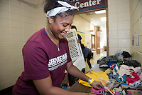Service DAWGS Day volunteers at Emerson Family Center<br />  (photo by Megan Bean / &copy; Mississippi State University)