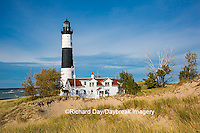 64795-01002 Big Sable Point Lighthouse on Lake Michigan, Mason County, Ludington, MI