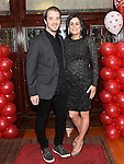 Brendan and Natasha O'Rourke pictured at the Valentine Ball in the Grove House Dunleer. Photo:Colin Bell/pressphotos.ie