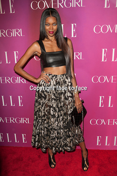 Jessica White attends the 4th Annual ELLE Women in Music Celebration at The Edison Ballroom on April 10, 2013 in New York City. ..Credit: MediaPunch/face to face..- Germany, Austria, Switzerland, Eastern Europe, Australia, UK, USA, Taiwan, Singapore, China, Malaysia and Thailand rights only -