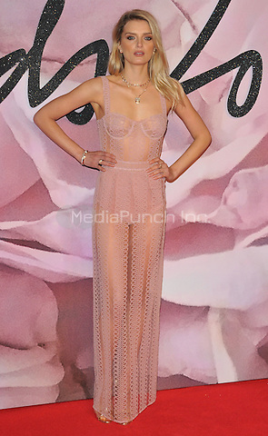 Lily Donaldson at the Fashion Awards 2016, Royal Albert Hall, Kensington Gore, London, England, UK, on Monday 05 December 2016. <br /> CAP/CAN<br /> ©CAN/Capital Pictures /MediaPunch ***NORTH AND SOUTH AMERICAS ONLY***