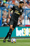 Jamaal Lascelles of Newcastle United during the premier league match at the John Smith's Stadium, Huddersfield. Picture date 20th August 2017. Picture credit should read: Simon Bellis/Sportimage