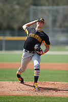 Pittsburgh Pirates pitcher Tyler Eppler (37) during an instructional league intrasquad black and gold game on September 23, 2015 at Pirate City in Bradenton, Florida.  (Mike Janes/Four Seam Images)