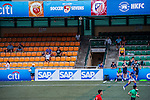 Stoke City vs Atletico de Madrid during day three of the HKFC Citibank Soccer Sevens 2015 on May 31, 2015 at the Hong Kong Football Club in Hong Kong, China. Photo by Xaume Olleros / Power Sport Images