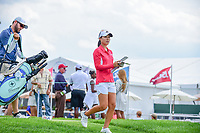 Danielle Kang (USA) departs the 10th tee during Wednesday's preview of the 72nd U.S. Women's Open Championship, at Trump National Golf Club, Bedminster, New Jersey. 7/12/2017.<br /> Picture: Golffile | Ken Murray<br /> <br /> <br /> All photo usage must carry mandatory copyright credit (&copy; Golffile | Ken Murray)