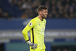 Maarten Stekelenburg of Everton is injured during the English Premier League match at Goodison Park, Liverpool. Picture date: December 19th, 2016. Photo credit should read: Lynne Cameron/Sportimage