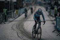 Yente Peirens (BEL)<br /> <br /> Junior Men's Race<br /> CX Vlaamse Druivencross Overijse 2017