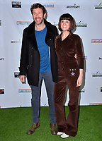 SANTA MONICA, CA. February 21, 2019: Chris O'Dowd & Dawn O'Porter at the 14th Annual Oscar Wilde Awards.<br /> Picture: Paul Smith/Featureflash