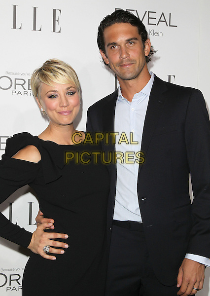 20 October  2014 - Beverly Hills, California - Kaley Cuoco, Ryan Sweeting. 2014 ELLE Women In Hollywood Awards held at the Four Seasons Hotel.  <br /> CAP/ADM/FS<br /> &copy;Faye Sadou/AdMedia/Capital Pictures