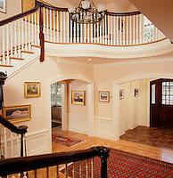 home entryway, Sudbury, MA