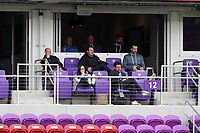 Orlando, Florida - Saturday January 13, 2018: Sporting Kansas City and Swope Park Rangers technical staffs including Peter Vermes, Zoran Savic, Paulo Nagamura, Brian Bliss, Chris Martinez, Alec Dufty, Meghan Cameron, Kerry Zavagnin. Match Day 1 of the 2018 adidas MLS Player Combine was held Orlando City Stadium.