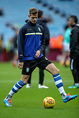 4th November 2017, Villa Park, Birmingham, England; EFL Championship football, Aston Villa versus Sheffield Wednesday; Joost van Aken of Sheffield Wednesday warms-up prior to the match