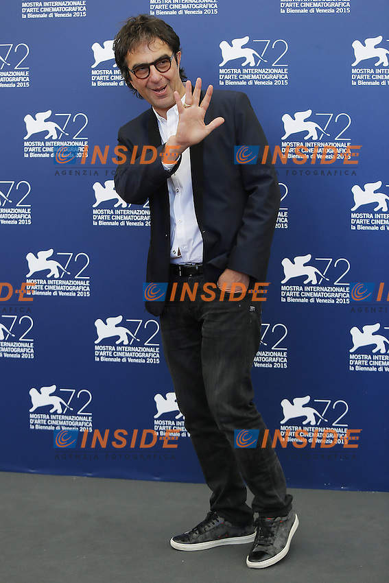 VENICE, ITALY - SEPTEMBER 10: Atom Egoyan attends 'Remember' Photocall during 72nd Venice Film Festival at Palazzo Del Cinema on September 10, 2015 in Venice, Italy. (Mark Cape/insidefoto)