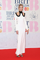 Karlie Kloss arriving at The Brit Awards 2015 (Brits) held at the O2 - Arrivals, London. 25/02/2015 Picture by: James Smith / Featureflash