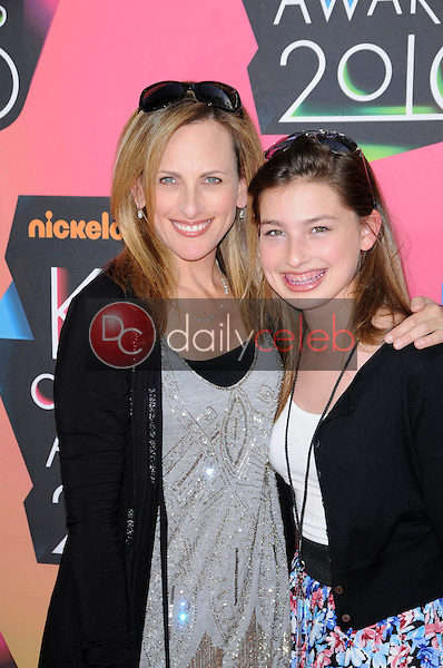 Marlee Matlin and daughter<br />