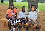 Justin, Gabriel, Dyoe Hostin, Camp Willdwood 2013 (Photo by Sue Coflin/Max Photos)