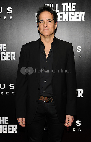 New York, NY- October 9:  Yul Vasquez attends the  'Kill the Messenger' New York Premiere at the Museum of Modern Art on October 9, 2014 in New York City. Credit: John Palmer/MediaPunch