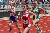 Crystal City freshman Emma Shirley runs to a third-place finish in the Class 1 200-meters in 27.31 at the Missouri Class 1 and 2 State Track and Field Championships in Jefferson City, Saturday, May 21.