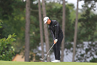 Daniel Im (USA) on the 2nd green during Round 4 of the D+D Real Czech Masters at the Albatross Golf Resort, Prague, Czech Rep. 03/09/2017<br /> Picture: Golffile | Thos Caffrey<br /> <br /> <br /> All photo usage must carry mandatory copyright credit     (&copy; Golffile | Thos Caffrey)