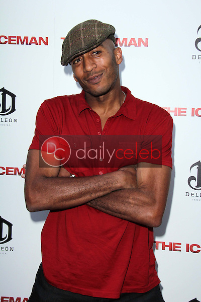"""James Lesure<br /> at """"The Iceman"""" Red Carpet, Arclight Theater, Hollywood, CA 04-22-13<br /> David Edwards/DailyCeleb.Com 818-249-4998"""