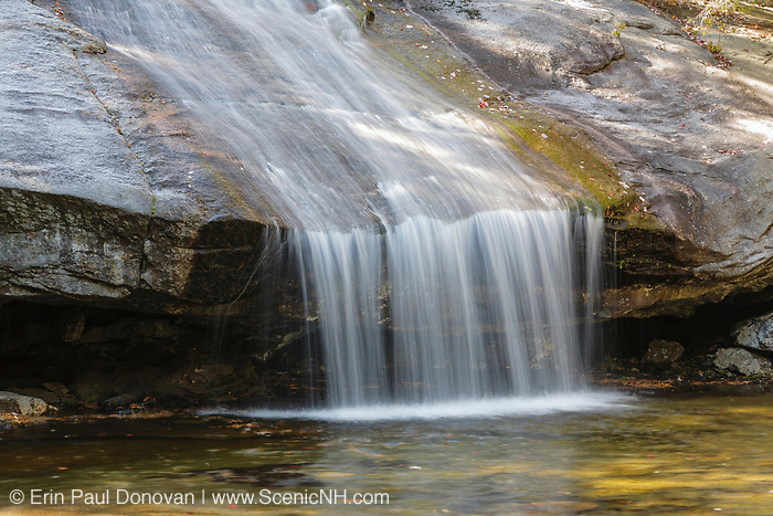 Beede Falls on Bearcamp River in Sandwich Notch in Sandwich, New Hampshire USA.