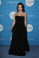 14 April 2018 - Beverly Hills, California - Alyssa Milano. 7th Biennial UNICEF Ball held at the Beverly Wilshire Four Seasons Hotel.  <br /> CAP/ADM/PMA<br /> &copy;BT/ADM/Capital Pictures