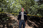 Der Leiter des Minenräumteams Hasim Karahmetovic./  Portrait of team leader deminers Hasim Karahmetovic.