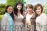 Eve, Irene, Eileen and Louise O'Donoghue pictured at the Glenflesk Gathering celebrations on Saturday.