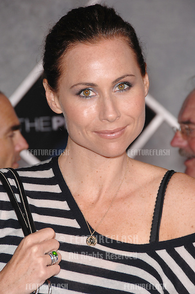 "MINNIE DRIVER at the world premiere, in Hollywood, of ""The Prestige""..October 17, 2006  Los Angeles, CA.Picture: Paul Smith / Featureflash"