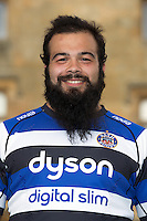 Kane Palma-Newport poses for a portrait at a Bath Rugby photocall. Bath Rugby Media Day on August 28, 2014 at Farleigh House in Bath, England. Photo by: Rogan Thomson for Onside Images