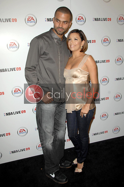 Tony Parker and Eva Longoria Parker<br />
