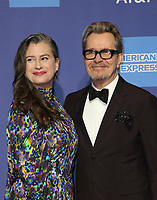 3 January 2019 - Palm Springs, California - Gary Oldman, Gisele Schmidt. 30th Annual Palm Springs International Film Festival Film Awards Gala held at Palm Springs Convention Center. Photo Credit: Faye Sadou/AdMedia