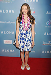 WEST HOLLYWOOD, CA - MAY 27: Actress Danielle Russell attends the 'Aloha' Los Angeles premiere at The London Hotel West Hollywood on May 27, 2015 in West Hollywood, California.