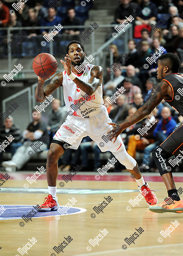 2014-12-02 / Basketbal / seizoen 2014-2015 / Antwer Giants - Le Mans / Kane DeAndre (Giants)<br />