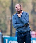 BLOEMENDAAL  - coach Michel van den Heuvel (Bldaal)  Hoofdklasse competitie heren, Bloemendaal-HGC (7-2). COPYRIGHT KOEN SUYK