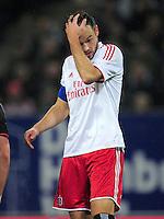 USSBALL   1. BUNDESLIGA    SAISON 2012/2013    10. Spieltag   Hamburger SV - FC Bayern Muenchen                    03.11.2012 Heiko Westermann (Hamburger SV)
