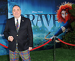 """First Minister of Scotland Alex Salmond at the World Premiere of Disney Pixar's """" Brave """" at the grand opening of the Dolby Theatre Los Angeles, CA. June 18, 2012"""