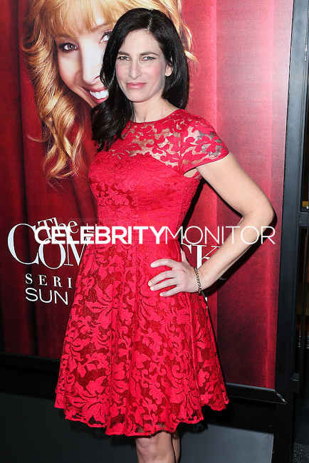 HOLLYWOOD, LOS ANGELES, CA, USA - NOVEMBER 05: Laura Silverman arrives at the Los Angeles Premiere Of HBO's 'The Comeback' held at the El Capitan Theatre on November 5, 2014 in Hollywood, Los Angeles, California, United States. (Photo by Xavier Collin/Celebrity Monitor)