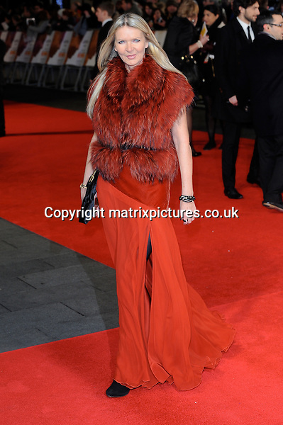NON EXCLUSIVE PICTURE: PAUL TREADWAY / MATRIXPICTURES.CO.UK<br /> PLEASE CREDIT ALL USES<br /> <br /> WORLD RIGHTS<br /> <br /> British fashion designer Amanda Wakeley attends the Royal film performance of &quot;Mandela: Long Walk to Freedom&quot; at the Odeon Theatre at Leicester Square in London, England.<br /> <br /> DECEMBER 5th 2013<br /> <br /> REF: PTY 137771