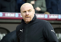 Burnley manager Sean Dyche <br /> <br /> Photographer Rich Linley/CameraSport<br /> <br /> The Premier League - Burnley v Leicester City - Saturday 16th March 2019 - Turf Moor - Burnley<br /> <br /> World Copyright © 2019 CameraSport. All rights reserved. 43 Linden Ave. Countesthorpe. Leicester. England. LE8 5PG - Tel: +44 (0) 116 277 4147 - admin@camerasport.com - www.camerasport.com
