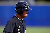 10 September 2011: Rashid Gerard of L&D Amsterdam Pirates is seen during game 4 of the 2011 Holland Series won 6-2 by L&D Amsterdam Pirates over Vaessen Pioniers, in Amsterdam, Netherlands.