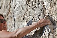 rock climbers Jackson Hole