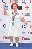 Rita Gilligan at the Nordoff Robbins O2 Silver Clef Awards 2019, JW Marriott Grosvenor House Hotel, Park Lane, London, England, UK, on Friday 05th July 2019.<br /> CAP/CAN<br /> ©CAN/Capital Pictures